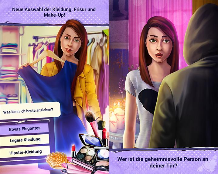 Wahre Liebe - Liebe Spiele Für Mädchen - Meine Liebesgeschichte