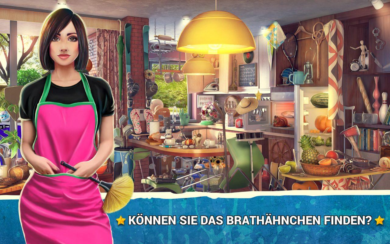 Chaotische Küche