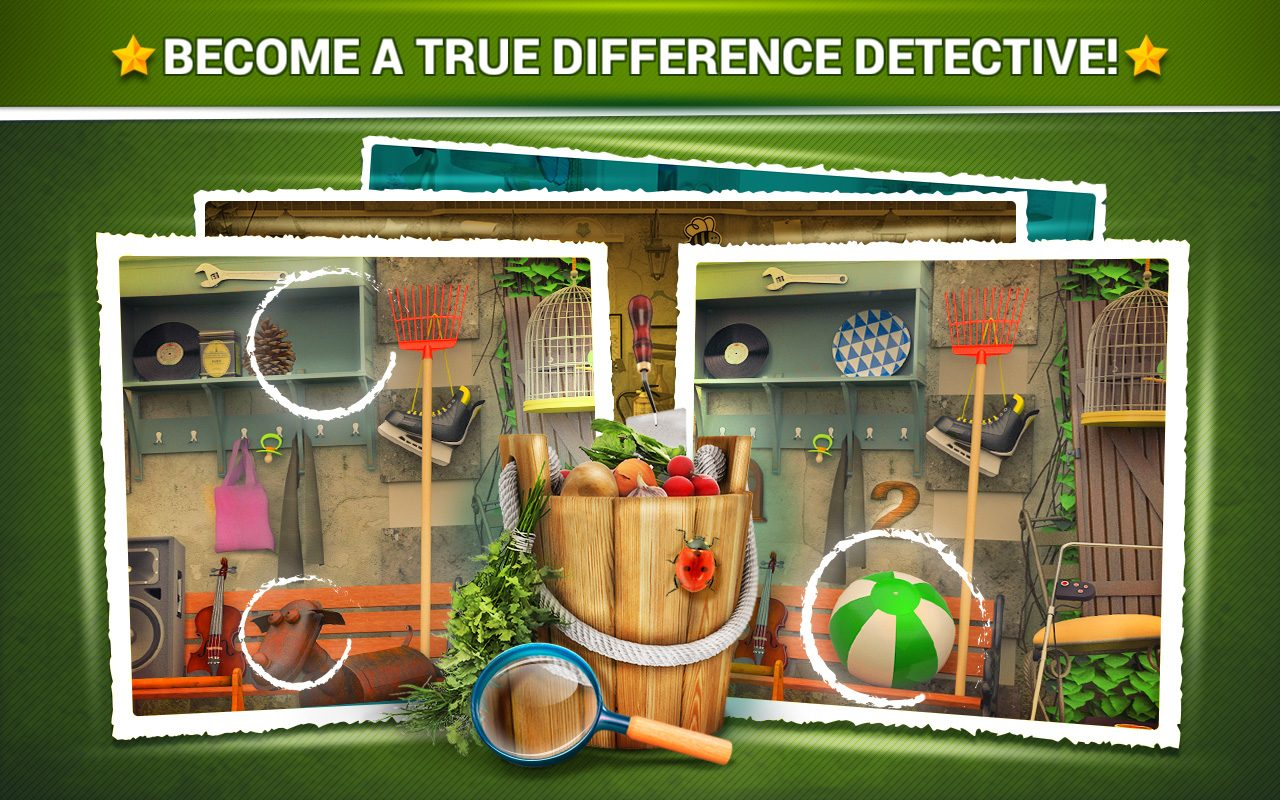 Find the Difference - Gardens