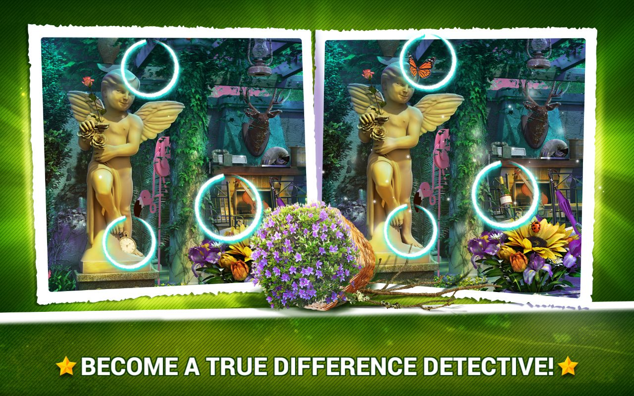 Find the Difference Gardens