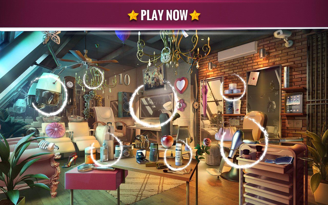 Hidden Objects Beauty Salon - Midva Games