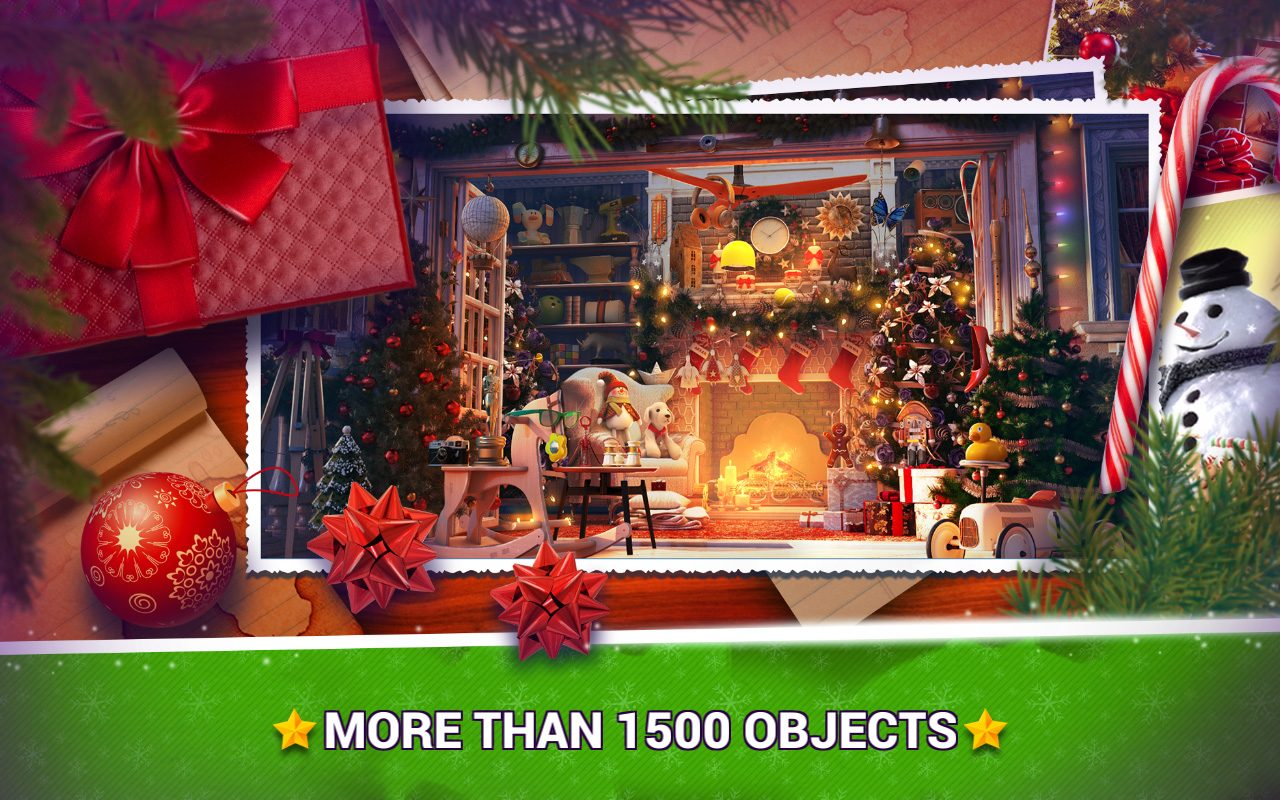 Hidden Objects Christmas Trees