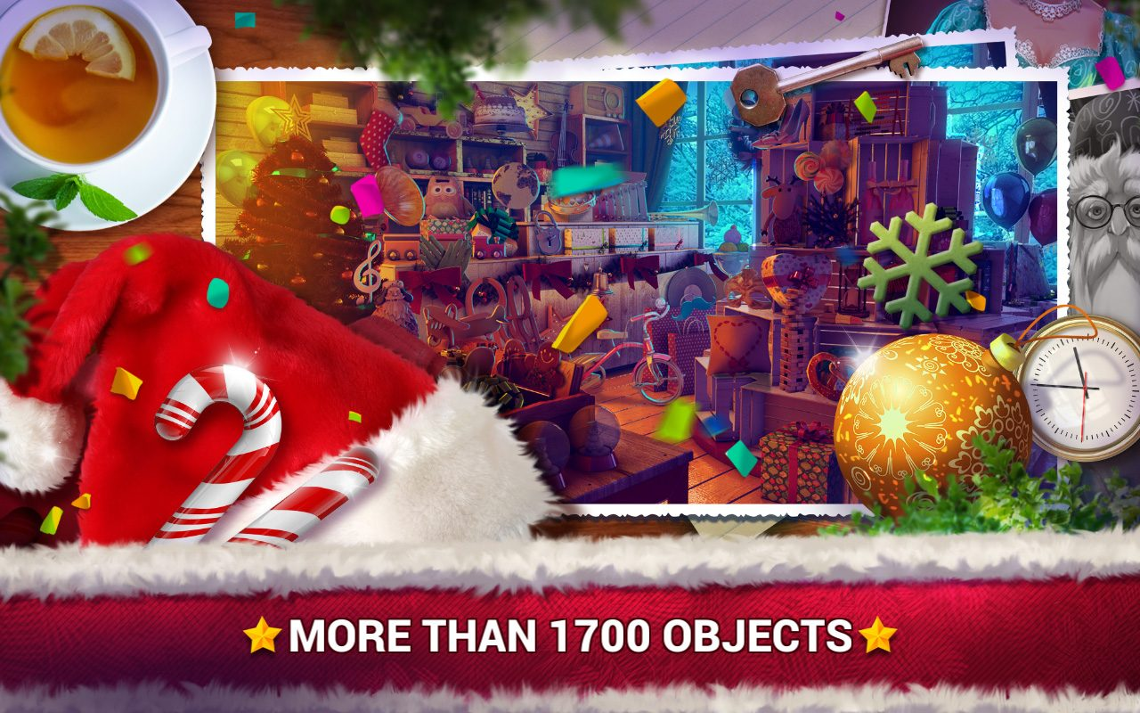 Hidden Objects Christmas Gifts