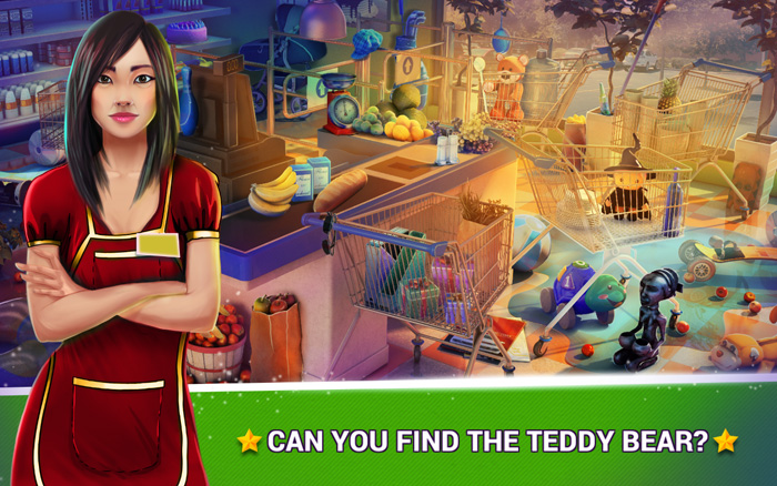 Hidden Objects Supermarket