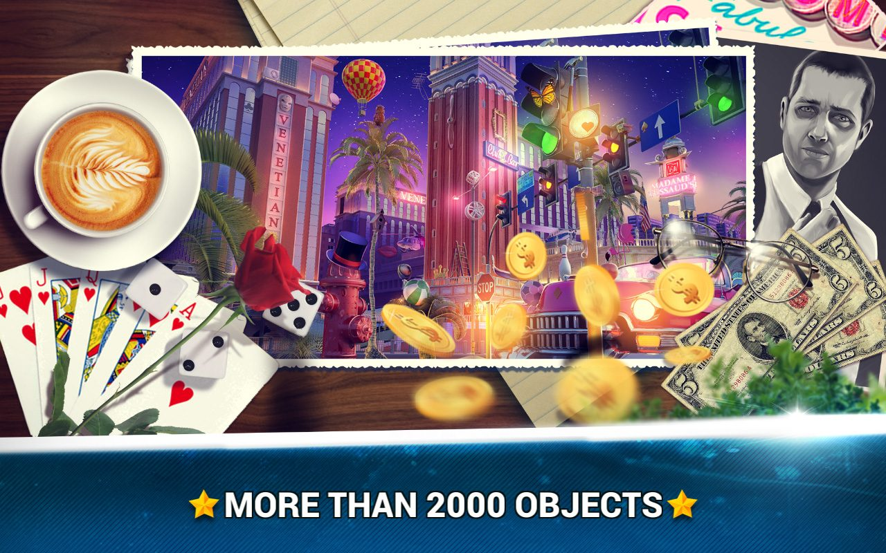 Hidden Object Las Vegas Case