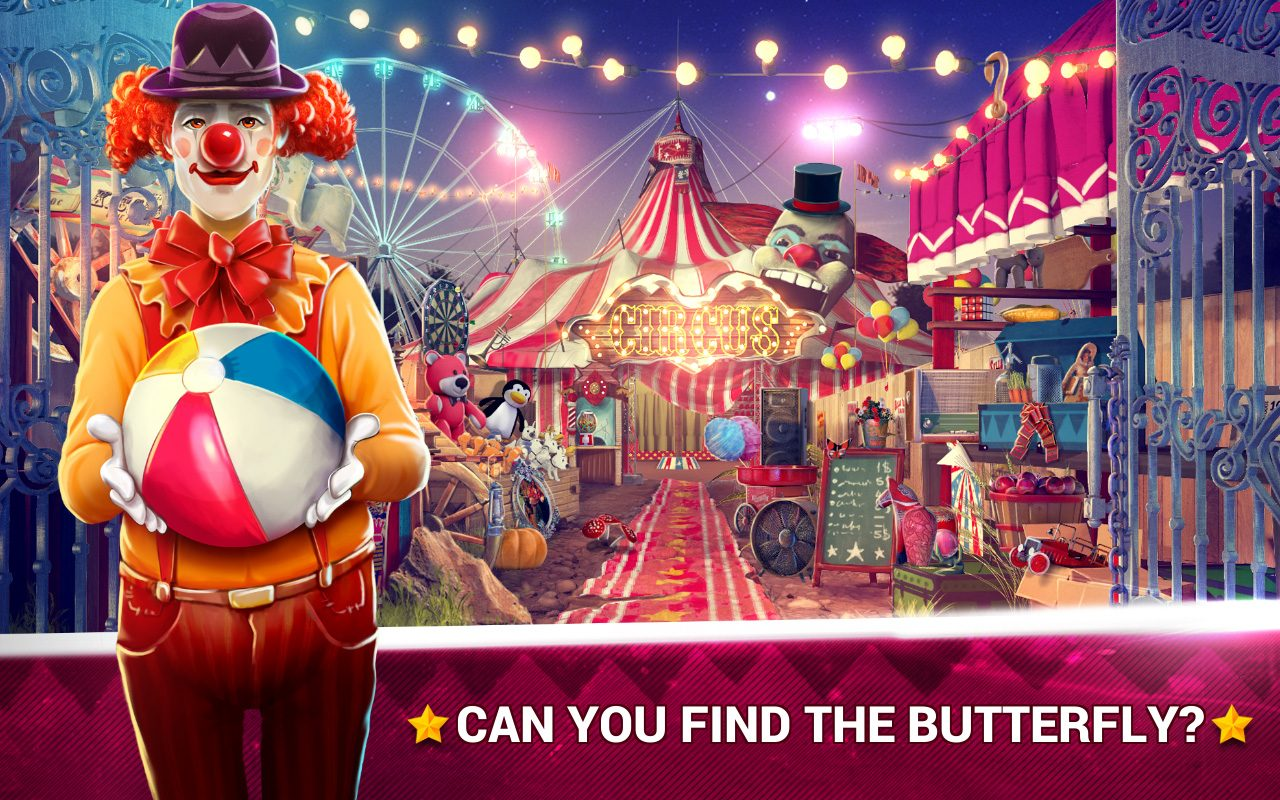 Hidden Objects Circus