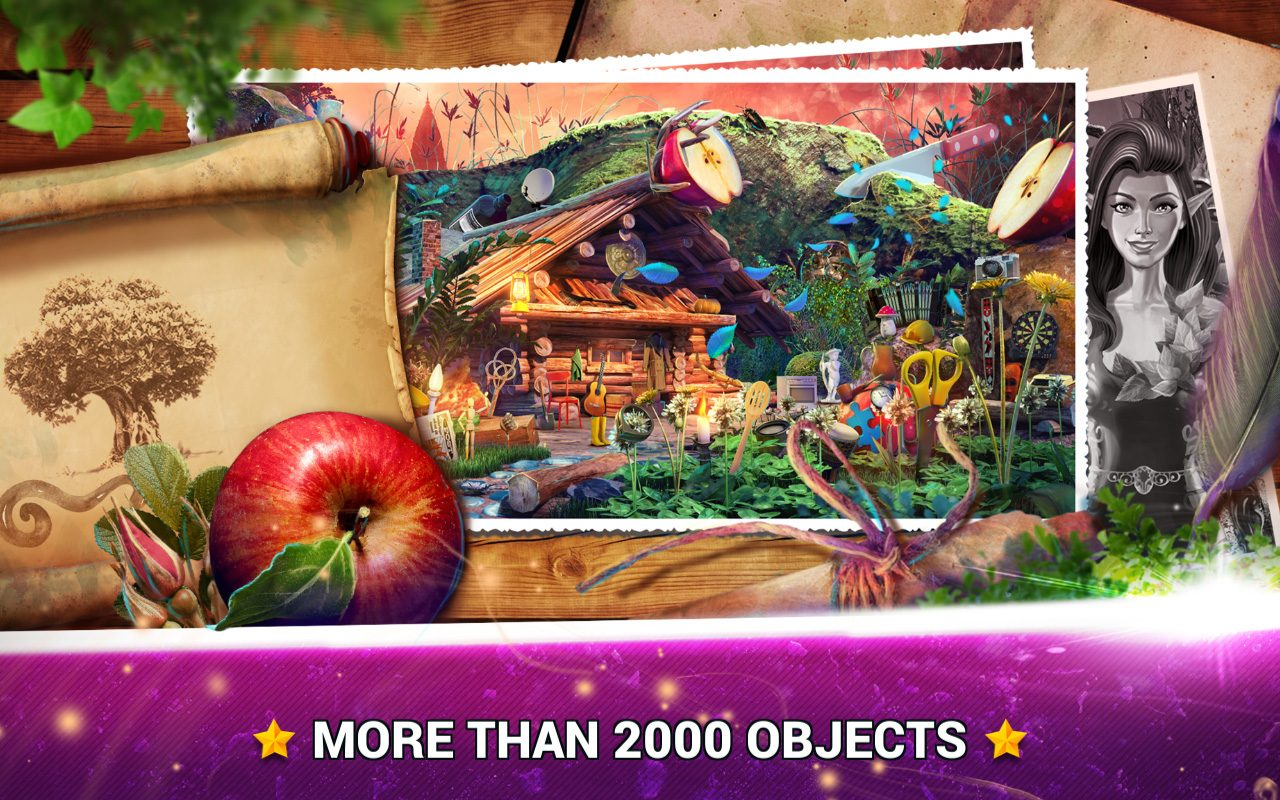 Hidden Objects Fantasy Fruits