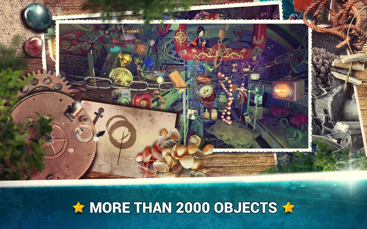 Hidden Objects Under the Sea