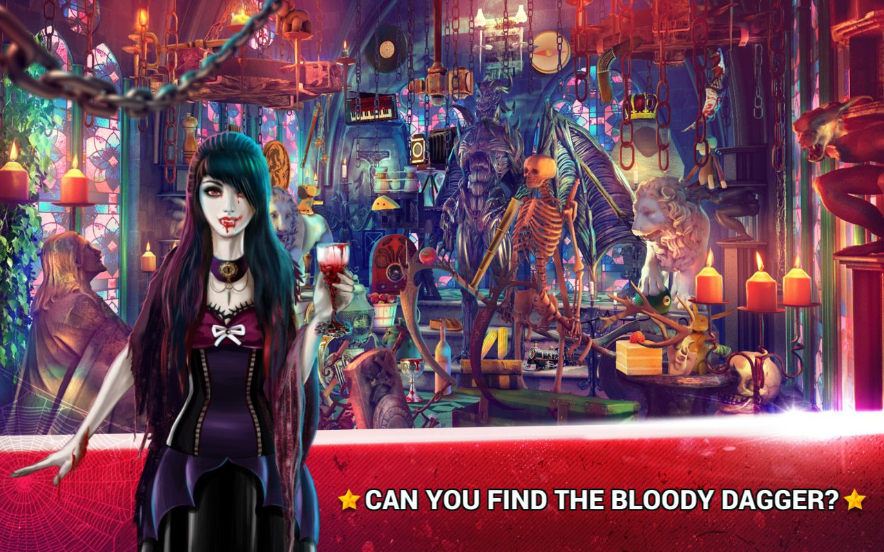 Hidden Objects Vampires Temple 2