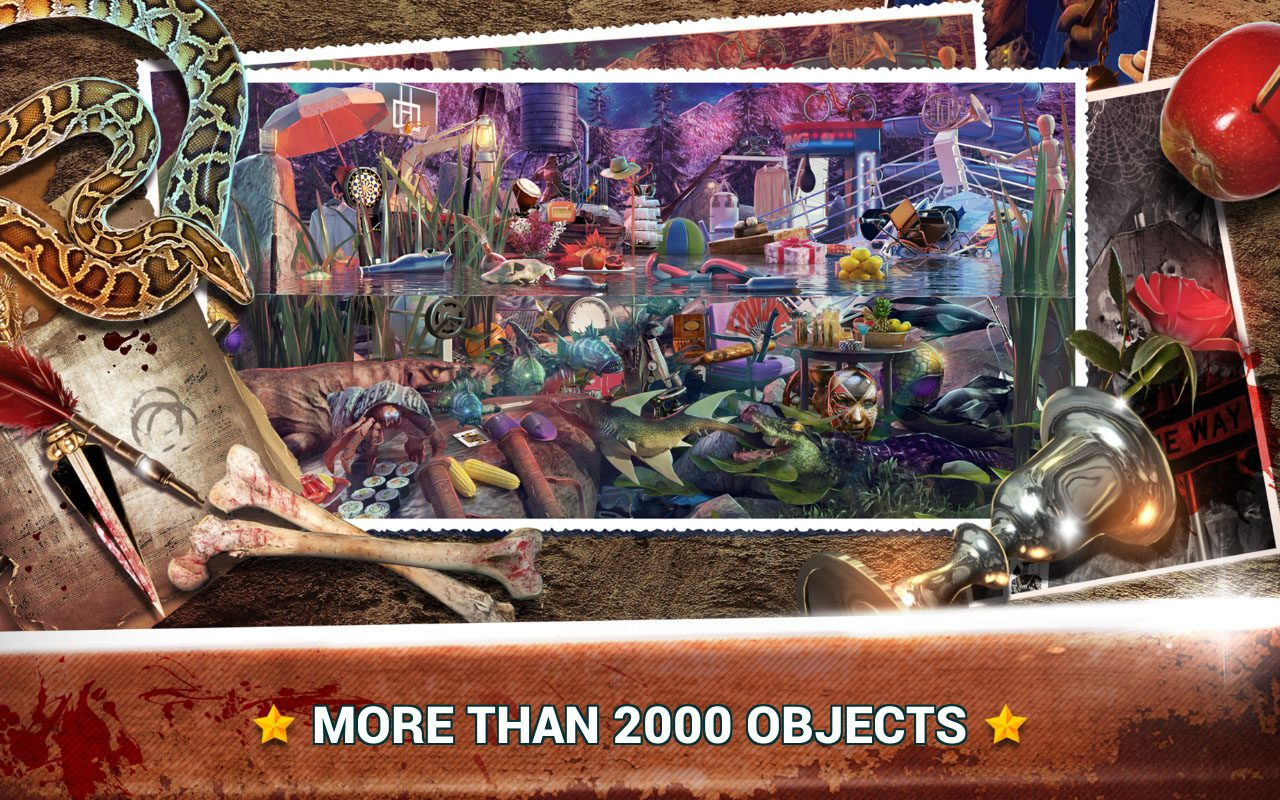 Hidden Objects Gates of Inferno