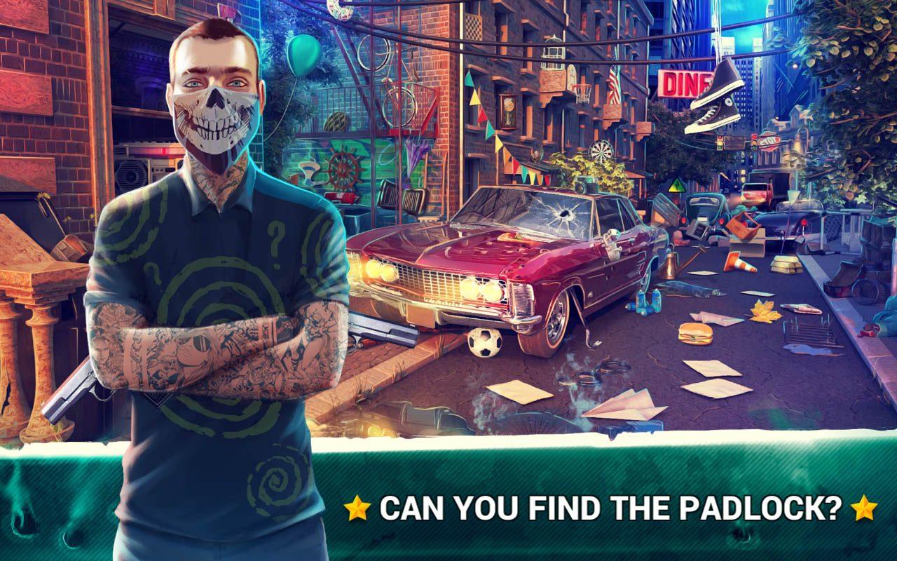 Hidden Objects Gangster Rebellion