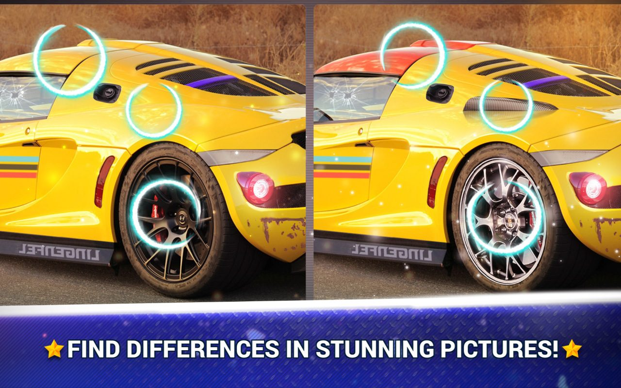 Find the Difference Cars