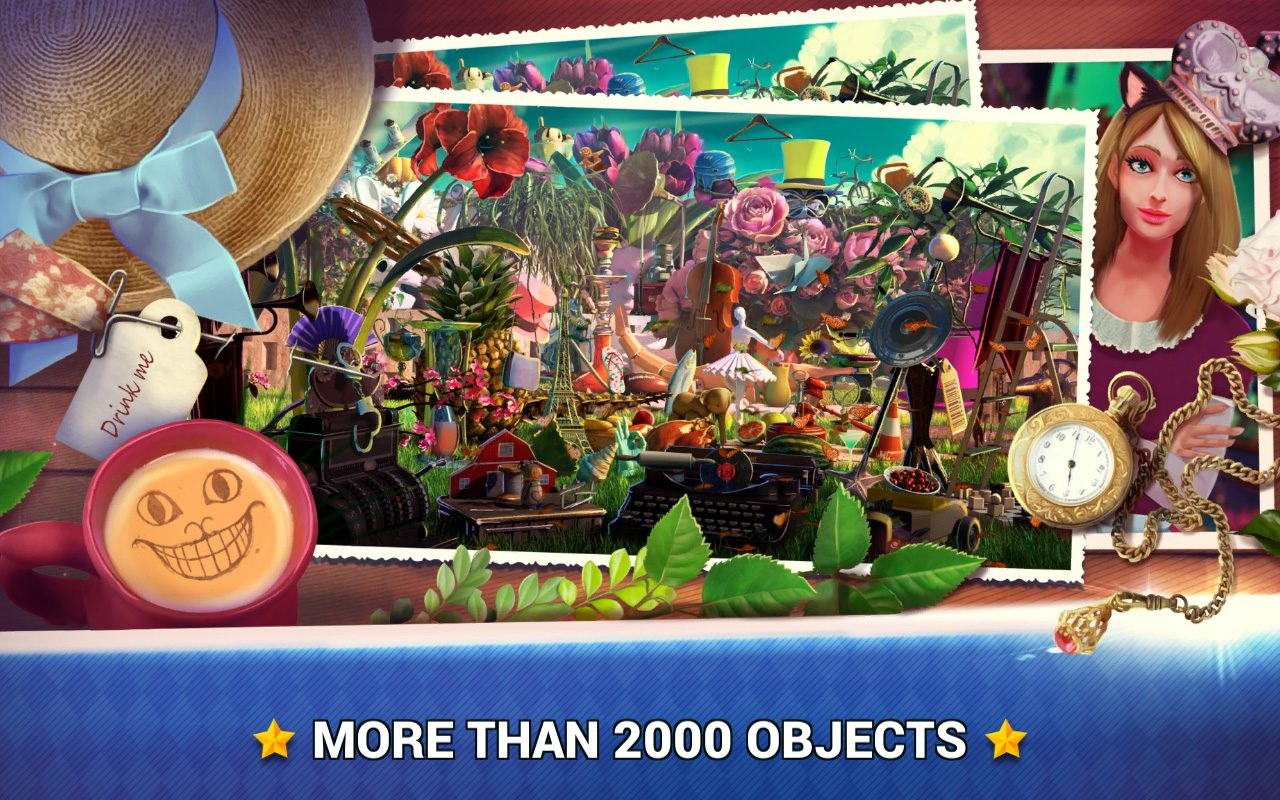 Hidden Objects Wonderland
