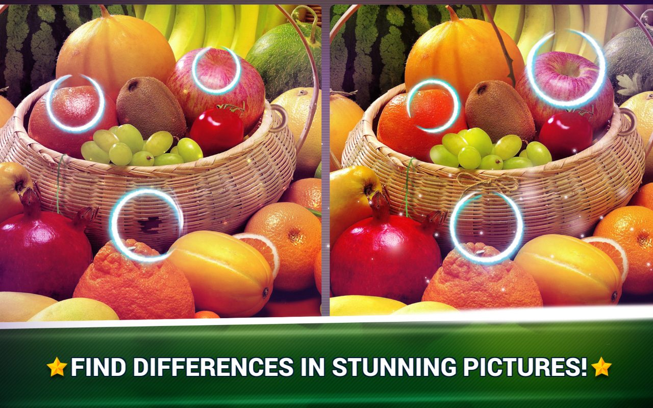 Find the Difference Fruit