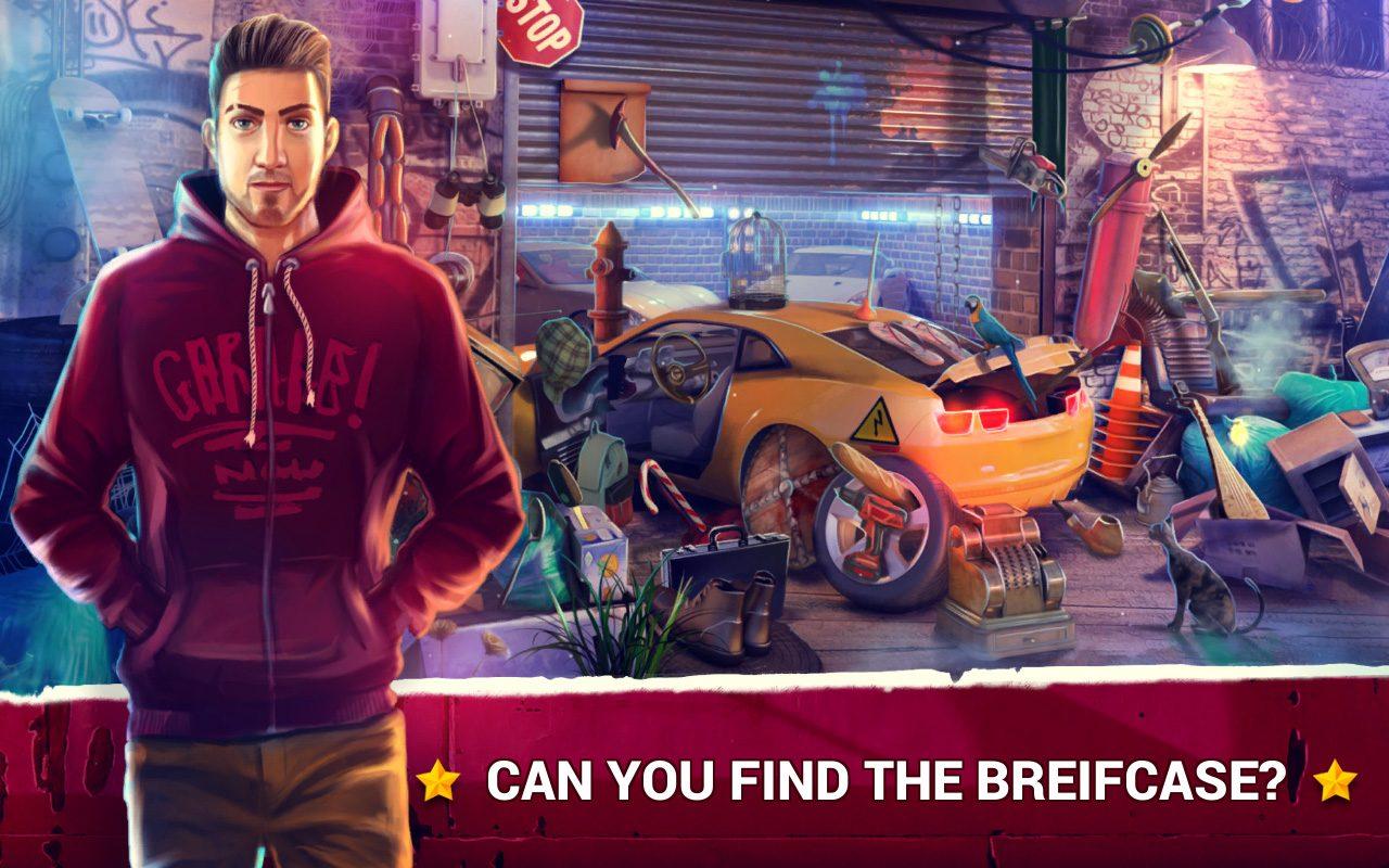 Hidden Objects Car Theft