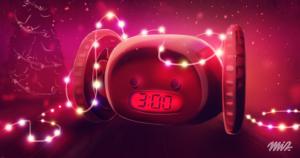 Christmas Gifts Runaway Alarm Clock
