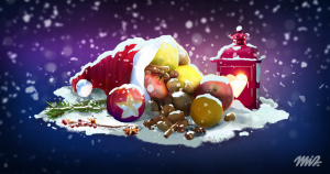 Christmas Fruit decoration