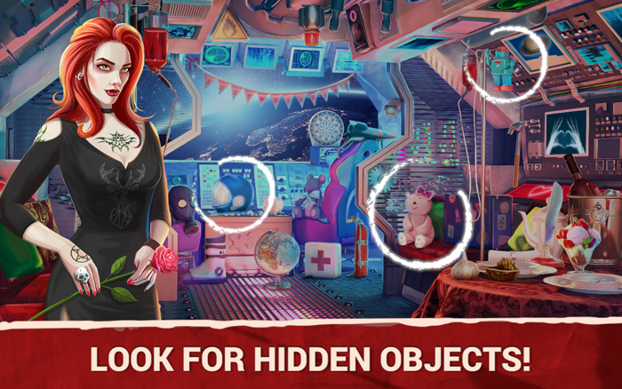 Hidden Objects Vampire Love Games